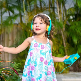Français - French Audiobook Player for Kids + Headphones | Lunii - My Fabulous Storyteller | French Audio Book for Kids | French Audio Stories for Childrens | Audio Device