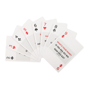 Japanese Playing Cards | Sturdy Travel Case | Bilingual English - Japanese Travel Phrases | 日本語  Japanese Flag Playing Cards | Language Learning Game Set | Useful Japanese Phrases | Language Learning Market