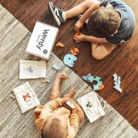 Spanish + English Sea Puzzle Set   Bilingual Puzzle   Wooden Toy   Montessori Learning   Spanish Language Toys   Play Set   Language Learning Market