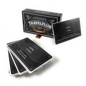Hebrew Flashcards - Travelflips   Bilingual Cards   Language Learning Flashcard Kit   Basic Hebrew for Beginners   Learn Hebrew Vocabulary   Hebrew עברית  - English   Language Learning Market