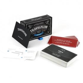 Spanish Flashcards - Travelflips | Bilingual Cards | Language Learning Flashcard Kit | Basic Spanish for Beginners | Learn Spanish Vocabulary | Spanish Español - English | Language Learning Market