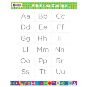 "IRISH Alphabet Poster | Gaeilge | Learn Irish | Gaeilge Letters | Irish ABCs | Printable | Preschool | Educational | Homeschool or Classroom Decoration | 16"" x 20"" | 8.5"" x 11"""