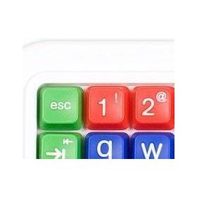 Clevy Kids Keyboard | Large Keys Kids Keyboard | Kids Keyboarding | SpillProof | SPED | Teach Kids Typing | Upper Case Letters